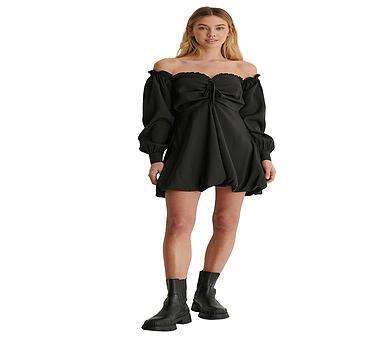 NAKD Kleid Lisa-Marie Schiffner x NA-KD schwarz | 32