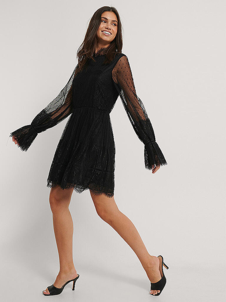 NAKD Kleid schwarz | 34