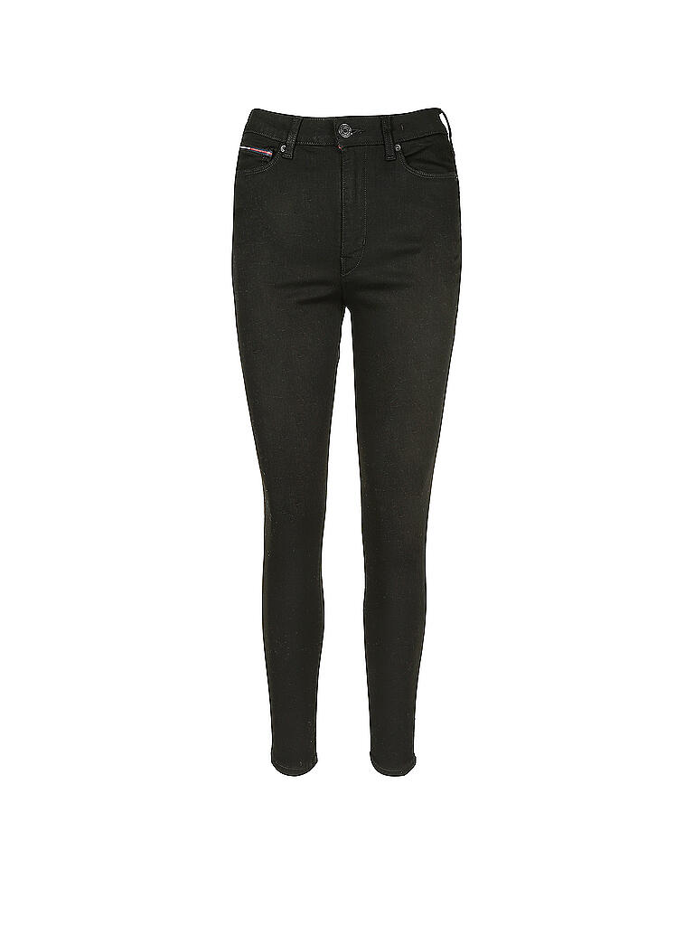 TOMMY JEANS | Highwaist Jeans Super Skinny Fit Sylvia | schwarz